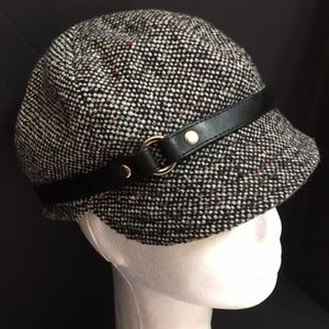 Scala Women's Vintage Handcrafted Paperboy Hat
